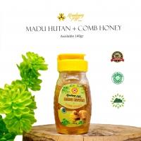 Madu Hutan + Comb Honey 140gr